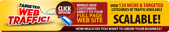 Click Exposure Targeted Web Traffic